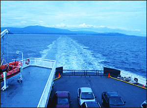 Ferry to Nanaimo